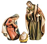 Avalon Gallery Nativity Set, 3-Piece,  Holy Family