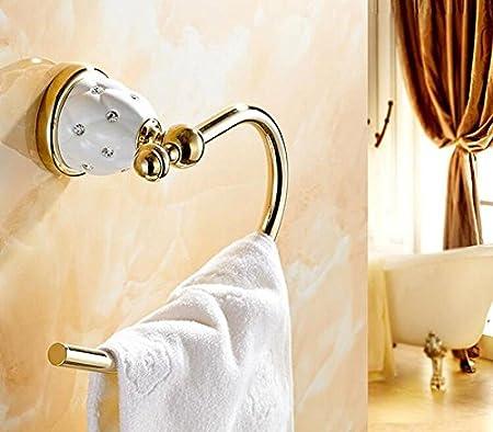 Amazon.com: ZQ American style Golden Bathroom Racks Bathroom Suite Bathroom Pendant , square box: Home & Kitchen