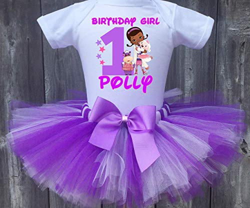 (Doc McStuffins Personalized Birthday Outfit Tutu)