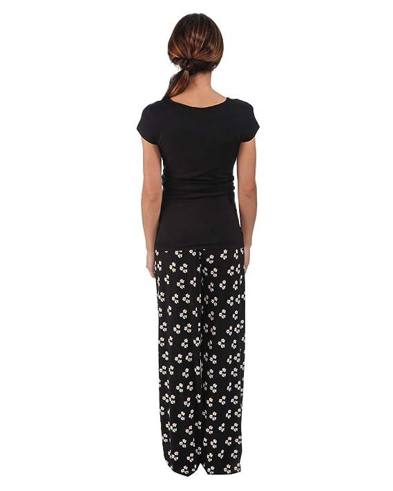 d37f78306 The Essential One- Pijama de lactancia Camisón lactancia premamá con mangas  cortes Camisones