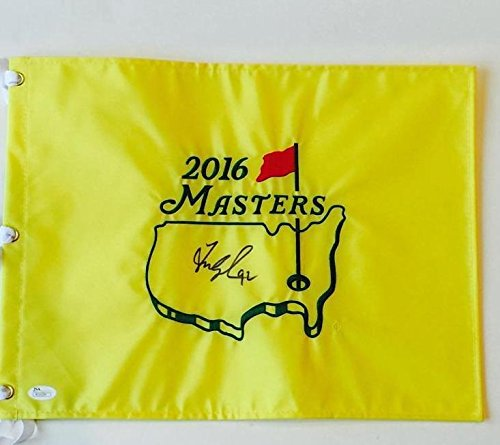 FRED COUPLES Signed 2016 MASTERS FLAG R51024 JSA Certified Autographed Pin Flags