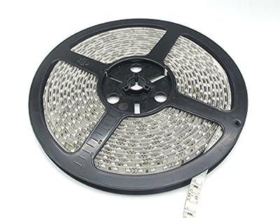 SuperonlineMall™ LED Strip Lights, 12V DC 16.4ft/5m LED Flexible Light Strip, 600 LEDs, 3528 SMD, Lighting Strips, LED Tape