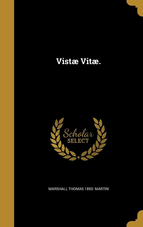 Vistae Vitae. pdf epub
