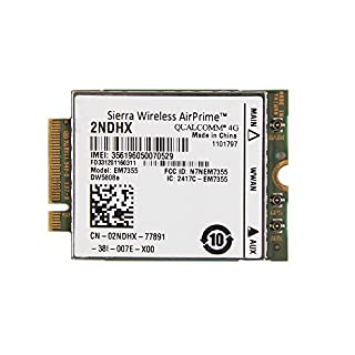 Sierra Wireless Airprime 2ndhx Em7355 Dw5808e Wwan Hspa Ngff Card for Dell (B00M4UK3SI) | Amazon price tracker / tracking, Amazon price history charts, Amazon price watches, Amazon price drop alerts