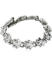 Cascading Crystal Bracelet