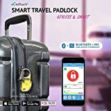 eGeeTouch Smart TSA Luggage Lock with Patented Dual Access Tech, NFC + Bluetooth, Vicinity Tracking