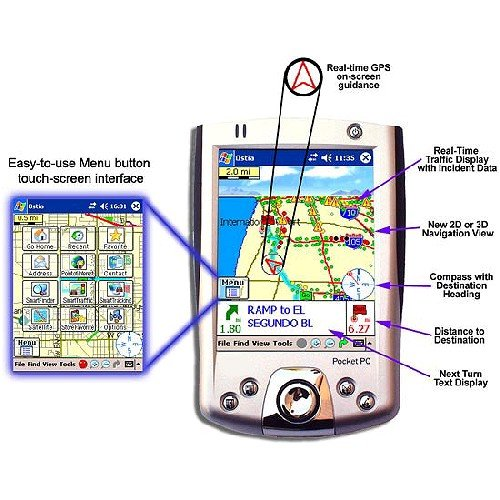 Pharos Ostia GPS Navigation Software - Pharos Pocket Pc
