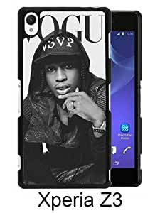 Recommended Design Phone Case ASAP Rocky 1 Black Newest Personalized Design Sony Xperia Z3 Cover Case