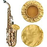 Yeshone 2 Pieces Instrument Bell Covers Saxophone