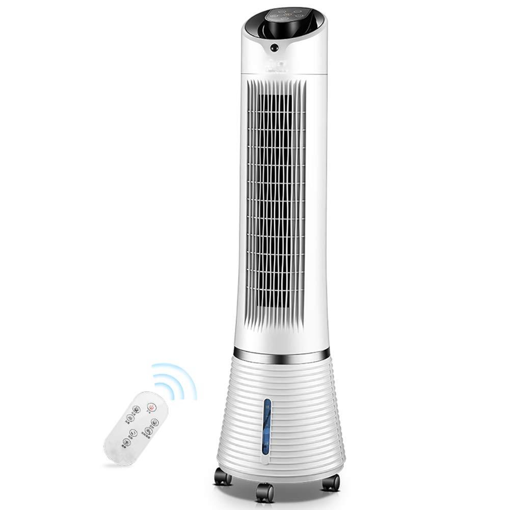 冷風扇 - タワー電動ファン、家庭用リモコンファン、常設静かな空調ファン、デスクトップ加湿、冷却ファン   B07G5YWGB3