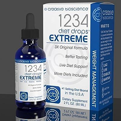 Creative Bioscience 1234 Diet Drops EXTREME