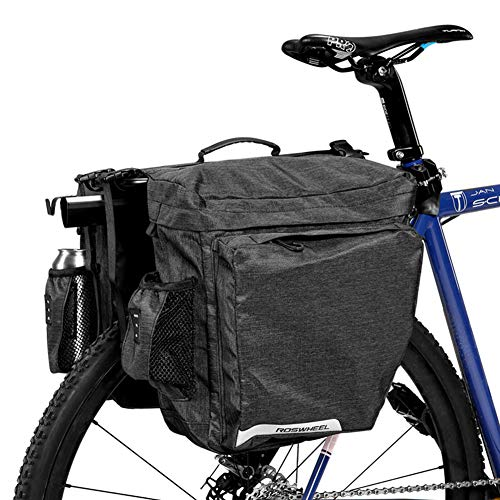 ArcEnCiel Bike Bag Bicycle Panniers Water-Resistant Rack Trunks Rear Seat Carrier Pack