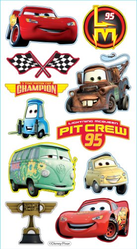 Disney/Pixar Puffy Stickers, Cars ()