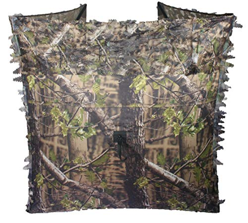 Auscamotek Turkey Hunting Pop up Ground Blind Portable Quick Setup Lightweight Deer Blinds Camouflage Tent Green (Best Turkey Hunting Blind)