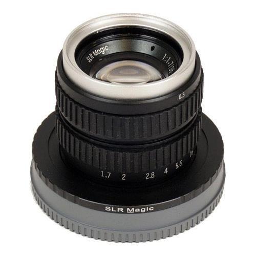 SLR Magic 35 mm f / 1.7 MCレンズfor Sony NEXシリーズカメラe-mount   B0751WFP4P