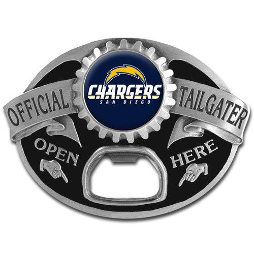 NFL San Diego Chargers Tailgater - Fan Belt Buckle