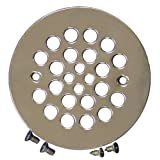PlumBest Shower Stall Drain, Satin Nickel