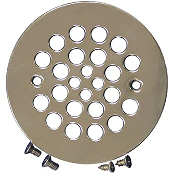 Plumbest D41 107 Shower Stall Drain Satin Nickel
