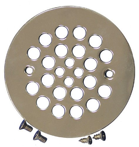 Plumbest D41-107 Shower Stall Drain, Satin Nickel (Nickel Shower Strainer)