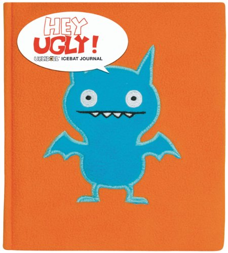 Hey Ugly: Ice Bat Plush Journal