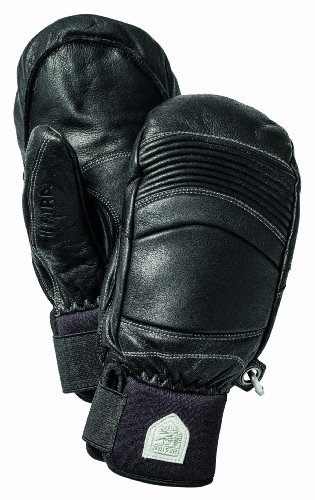 Hestra Leather Fall Line Mitt Black Gloves 9