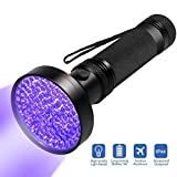 Escolite UV Flashlight Black Light, Ultraviolet Blacklight Detector - Best Reviews Guide