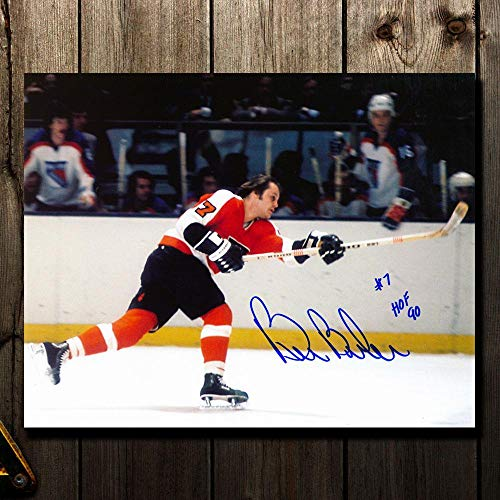 Bill Barber Autographed Photo - HOF Slapshot 8x10 - Autographed NHL Photos ()