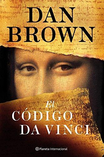 Portada del libro El código Da Vinci de Dan Brown