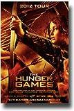 Hunger Games Poster - Promo Flyer 2012 Movie - 11 X 17 - Jennifer Lawrence - Tour