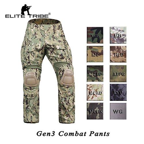 multicam pants knee pads - 9