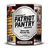 Buttermilk Pancake Mix (21 servings) #10 Can Bulk Emergency Storage Food Supply, Up to 25-Year Shelf Life