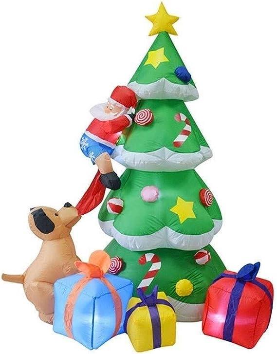 WHS Escalada Inflable de Navidad Papá Noel en el árbol de ...