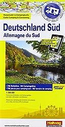 Deutschland Süd: Stellplatzkarte, 850 Stellplätze, 1:700 000, Karte Fotos Plätze all in one, Mit kostenlosem Download für Smartphone Reisemobil-Stellplätze, GPS Daten, Adressen, Websites
