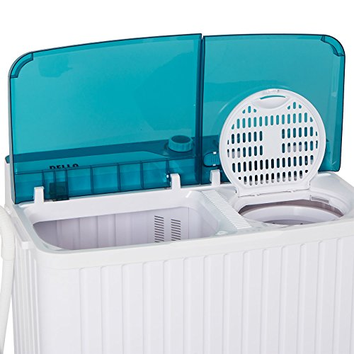 Della Portable Mini Compact Twin Tub Washing Machine