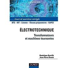 ELECTROTECHNIQUE : TRANSFORMATEURS ET MACHINES TOURNANTES