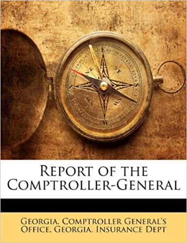 Report of the Comptroller-General