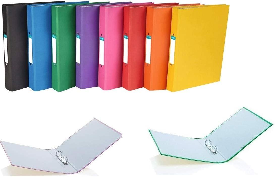 5X 2 Ring binder folders