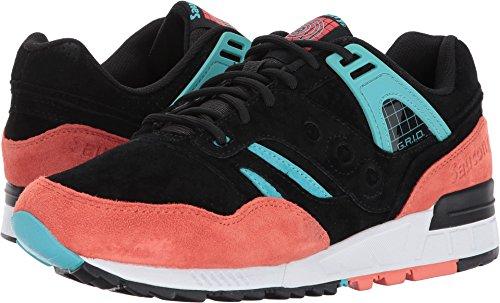 Saucony Originals Men's Grid SD Sneakers Black/Coral/Blue cheap ebay VMHJcC4a