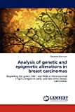 Analysis of Genetic and Epigenetic Alterations in Breast Carcinomas, Ritabrata Banerjee, 3659159336