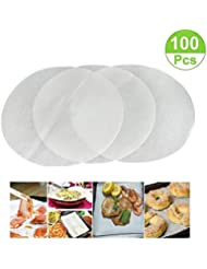 (set of 100) Non-Stick Round Parchment Paper 10 Inch Diameter,Baking Paper Liners for Round Cake Pans Circle