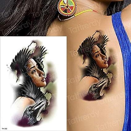 tzxdbh 3 UNIDS Enmascarado Chicas Tatuaje Geisha japonés Samurai ...