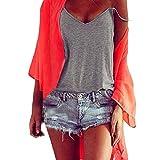 KIKOY Women Summer Sleeveless Basic Vest Top Sexy Blouse Casual Tank Top T-Shirt