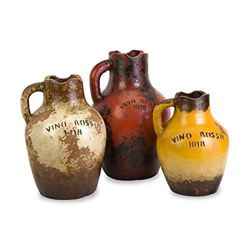 Imax 20081-3 Terracotta Vases (Set of 3) ()