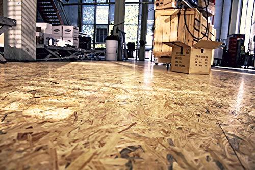 Osb Fußboden Werkstatt ~ Clou osb lack seidenglänzender holzlack zur versiegelung von osb