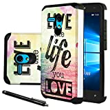 """Jitterbug Smart (5.5"""") Case, Linkertech [Shock Absorption] Heavy Duty Defender Dual Layer Protector Hybrid Case Cover For Jitterbug Smart (5.5inch) (B-3)"""