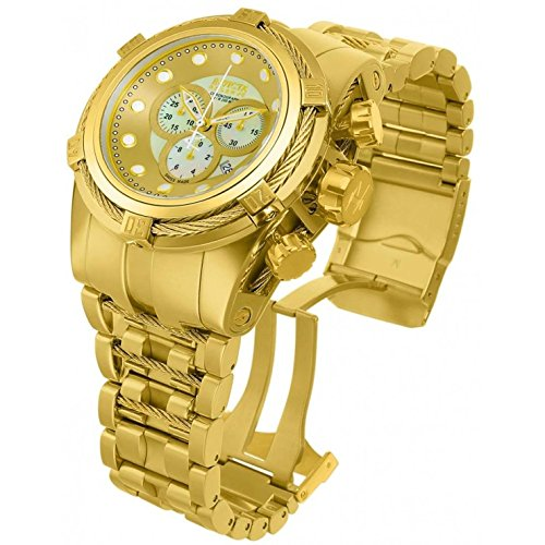 Invicta Men s 12738 Bolt Analog Display Quartz Gold Watch