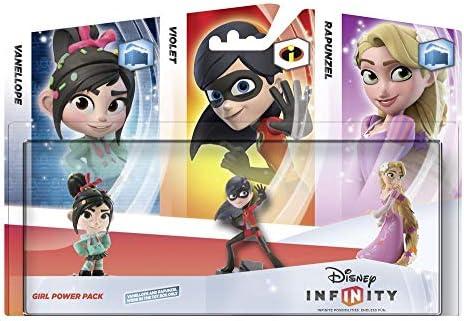 Disney Infinity - Pack Figuras: Chicas (Vanellope, Violeta, Rapunzel): Amazon.es: Videojuegos