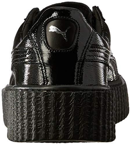 Wrinkled Patent Black Creeper Zapatillas Deportivas Puma SCpw8w