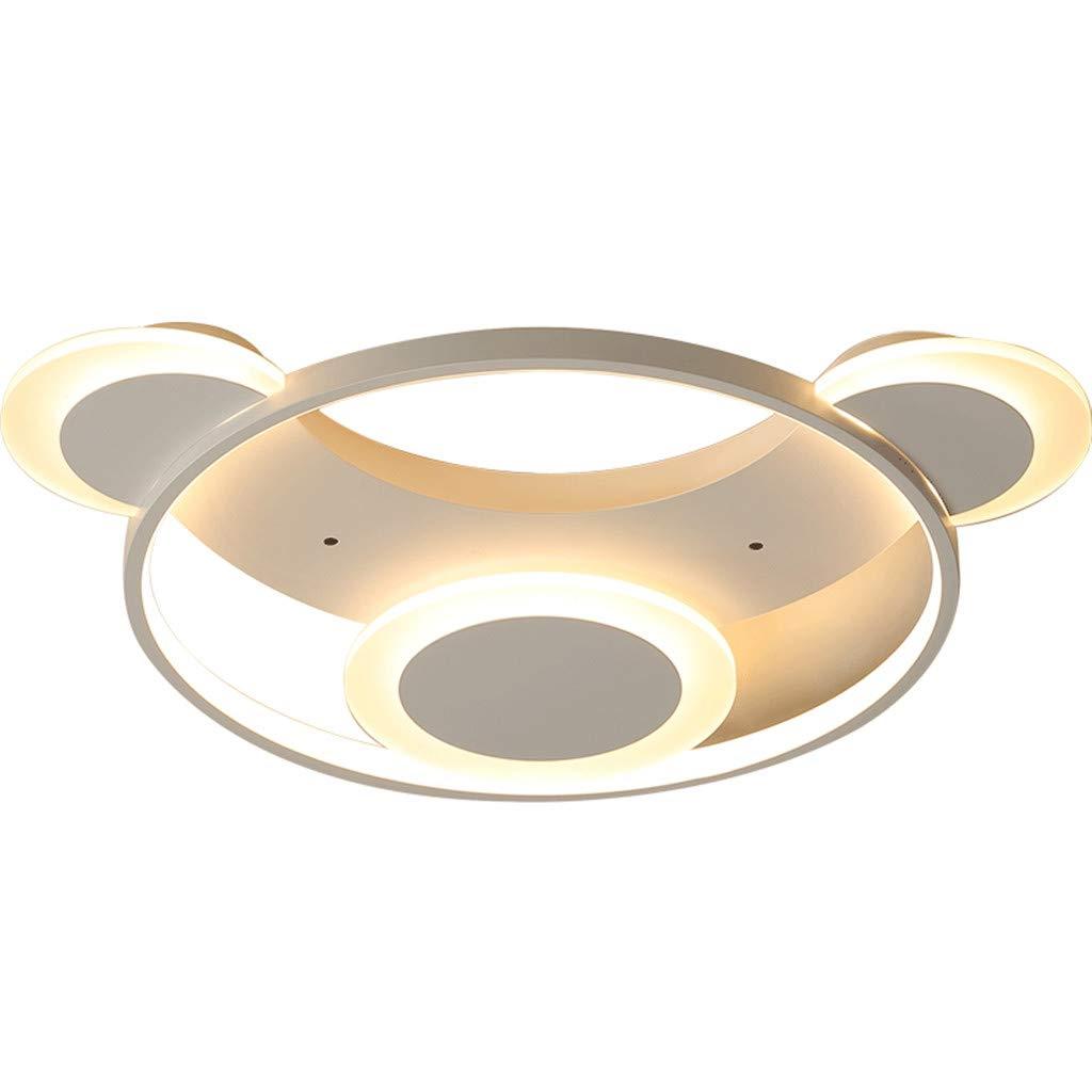 JINWELL Deckenleuchte moderne LED Deckenleuchte LED ultradünne 6cm panda neue schlafzimmer lampe warmes zimmer led deckenleuchte kinderzimmer home decorationsimple moderne mädchen kinderzimmerlampe Ba