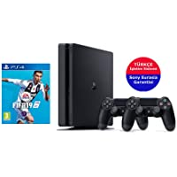 Sony Ps4 Slim 500 GB + Fifa 19 + 2. Kol (Eurasia)